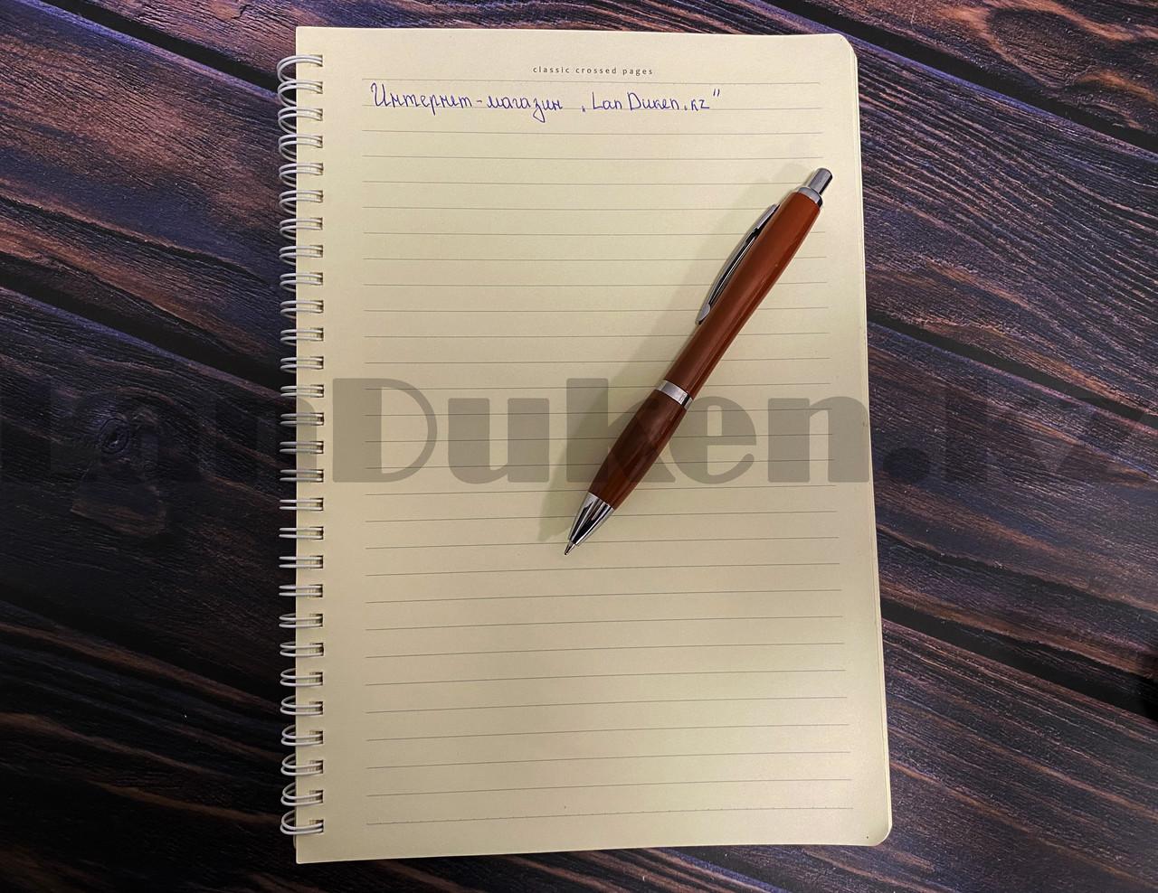 Мужской набор (фляга 250 мл фляга 100 мл рюмка воронка ручка) в подарочной коробке - фото 6