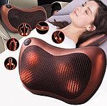 Массажная подушка Massage Pillow  8 роликов в авто и для дома., фото 2