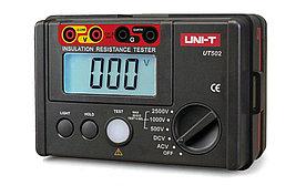 UT502A, Измеритель сопротивления изоляции цифровой