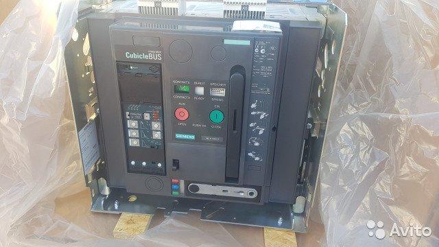 Выкатной автоматический выключатель Siemens 1000A
