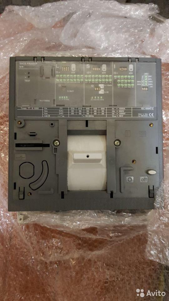 Автоматические выключатели ABB Tmax T7S 1000A
