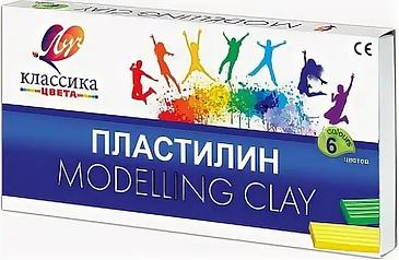 """Пластилин из 6 цветов """"Modeling Clay"""""""