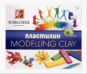 "Пластилин из 10 цветов ""Modelling Clay"""