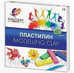 "Пластилин из 12 цветов ""Modelling Clay"""