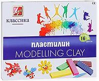 "Пластилин из 16 цветов ""Modelling Clay"""