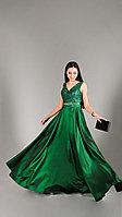 Вечернее платье Doridorca 00KB8180-YESIL (42)