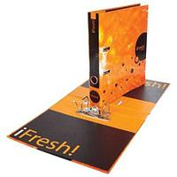 "Папка-регистратор HATBER HD, 2-х стороняя запечатка, 50 мм, ""IFRESH-апельсин"", ПР4 11263, V119792 (арт. 224912)"