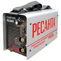 Сварочный аппарат инверторный САИ 160 РЕСАНТА, сварочный ток до 160 А, диаметр электрода до 4 мм, 65/1 (арт. 670405)