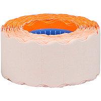 Этикет-лента OfficeSpace, 26*16мм, волна, оранжевая, 800 этикеток (арт. 243284)