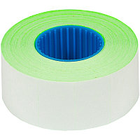 Этикет-лента OfficeSpace, 26*16мм, прямоугольная, зеленая, 800 этикеток (арт. 259766)