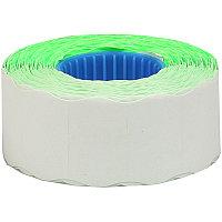 Этикет-лента OfficeSpace, 26*16мм, волна, зеленая, 800 этикеток (арт. 243283)