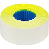 Этикет-лента OfficeSpace, 26*16мм, прямоугольная, желтая, 800 этикеток (арт. 259765)