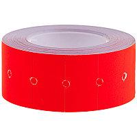Этикет-лента OfficeSpace, 21*12мм, красная, 500 этикеток (арт. 205704)