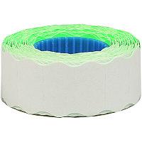Этикет-лента OfficeSpace, 22*12мм, волна, зеленая, 800 этикеток (арт. 243314)