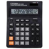 Калькулятор CITIZEN SDS444S 12-разрядный бухгалтерский черный (арт. 063055)