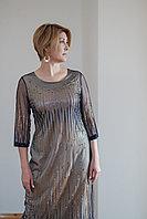 Платье Balerina 19144-2 P.Gold фиолетовое