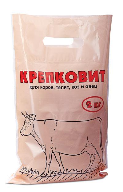 Крепковит для коров, телят, коз и овец 2кг