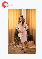 Платье Vokzal RE9786 ROXELAN нежно-розовое