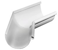 Угол желоба внутренний 135 гр,125 мм RAL 9003 Белый