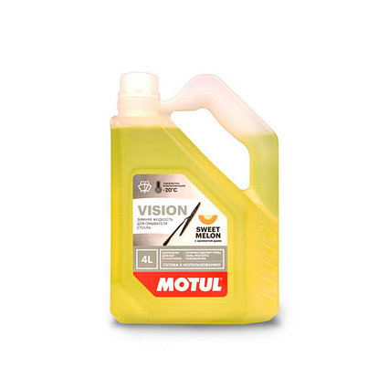 MOTUL -20(Незамерзайка) Зиминяя жидкость для омывателя стекла 4L с ароматом дыни