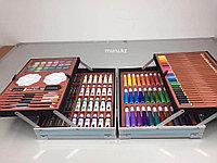 Набор для рисования детский 145 предметов чемодан