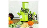 Ручная терка/овощерезка(мясорубка для овощей и фруктов, 3 насадки), фото 4