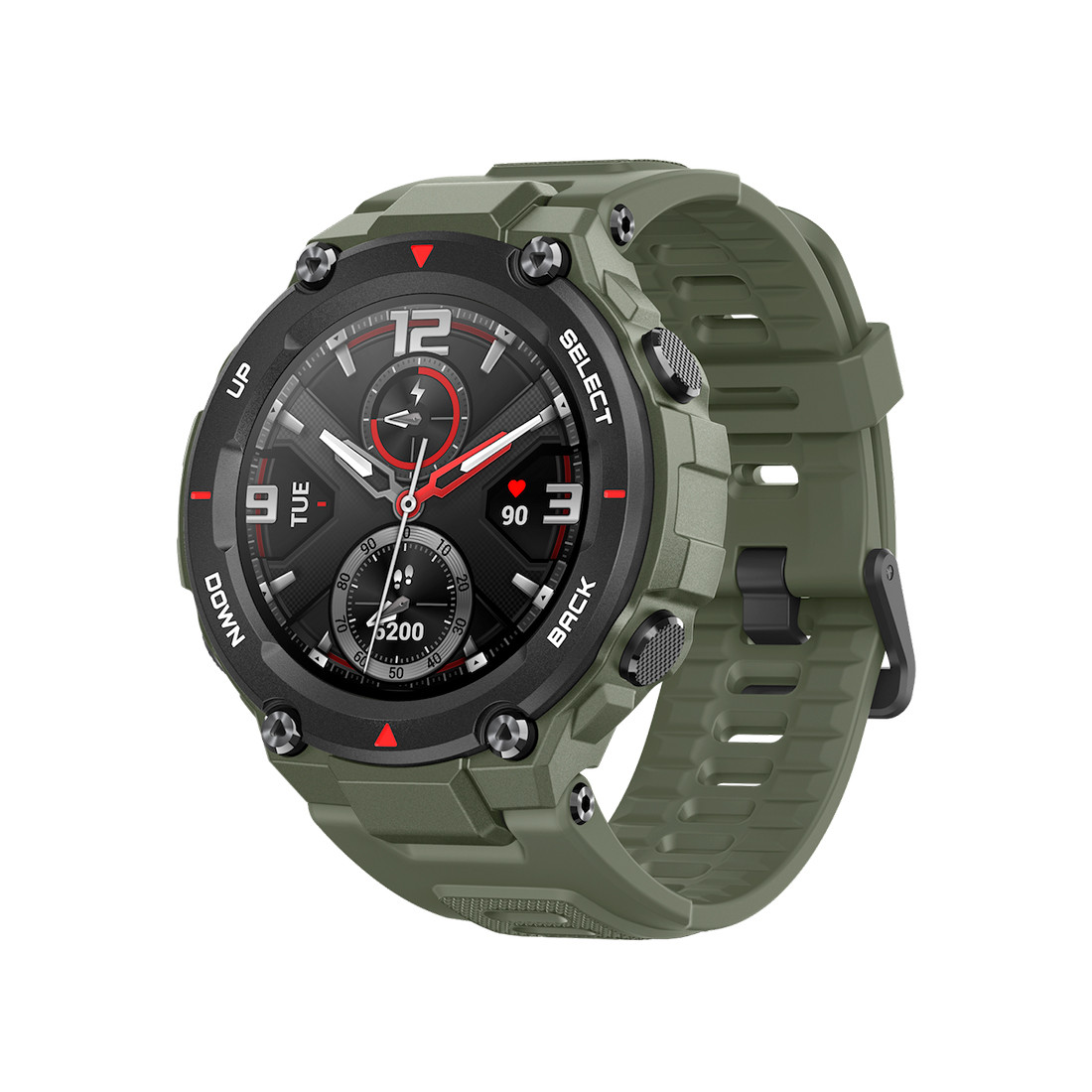 Смарт часы, Xiaomi, Amazfit T-Rex A1919, Разрешение 360*360 pixel, GPS, GLONAS, Водонепроницаемые (5