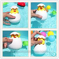 Игрушка для купания Пингвин и Цыплёнок в яйце, фото 3