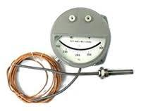 Термометр ТКП-160Cr-М3 манометрический конденсационный сигнализирующий, длина соед. капилляра 1 м, до 21.05.2020 г