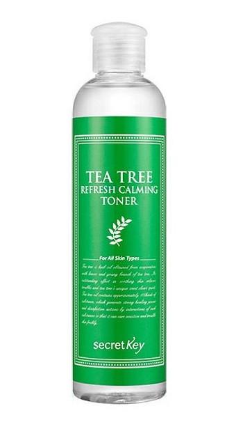 Очищающий тоник с маслом чайного дерева для проблемной кожи Secret Key Tea Tree Refresh Calming Toner