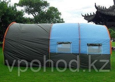 Палатка люкс с коридором и шатром  СТ-3017 4-х местная (220+110+100)*300* h210)