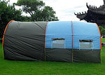 Палатка  с коридором и шатром  СТ-3017 4-х местная, фото 2