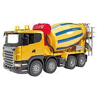 Брудер машина игрушечная бетономешалка Scania Bruder, фото 1