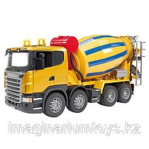 Брудер машина игрушечная бетономешалка Scania Bruder