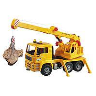 Bruder игрушечный подъемный кран MAN, фото 1