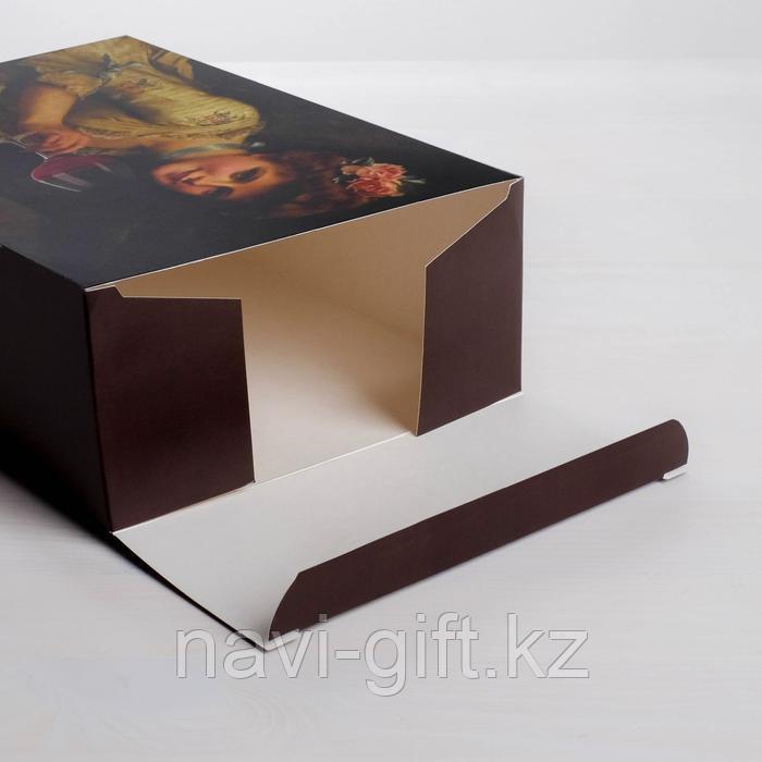 Коробка складная «Вино», 16 × 23 × 7.5 см - фото 5