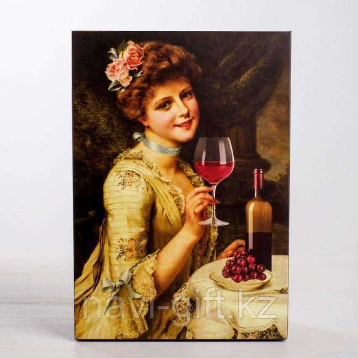 Коробка складная «Вино», 16 × 23 × 7.5 см - фото 4