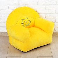 Мягкая игрушка 'Кресло Мишка', цвет жёлтый