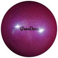 Мяч для художественной гимнастики, блеск, 18,5 см, 400 г, цвет сиреневый