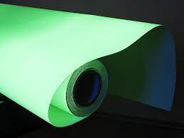 Фосфорная пленка (cветонакапливающая) для печати (1,22м х45,7м)
