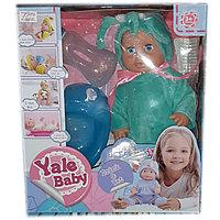 Интерактивная кукла пупс Yale Baby с необходимыми аксессуарами и в забавных одежках, фото 1