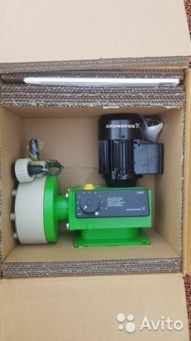 Дозировочный насос Grundfos DMX до 380 л/ч