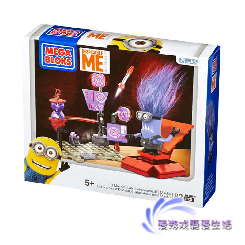 Mega Bloks Миньоны Лаборатория Мачо - фото 1