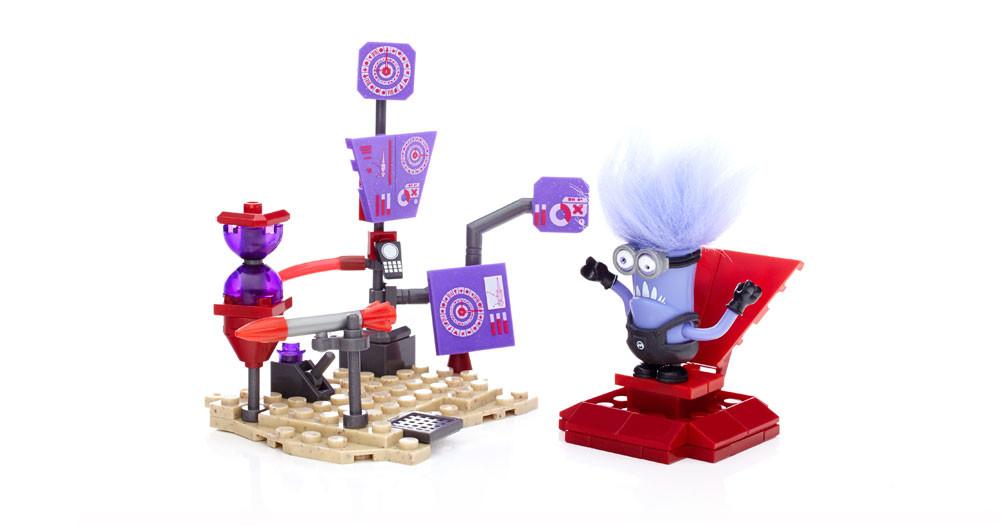 Mega Bloks Миньоны Лаборатория Мачо - фото 2