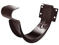 Крюк короткий 125 мм RAL 8017 Коричневый