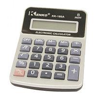 Калькулятор 8р Kenko 185А метал.панель, звук 115*76*15мм