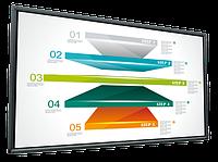 Коммерческий дисплей отображения видео и изображений. с дисплеем больших размеров, 70 , 84 , 98