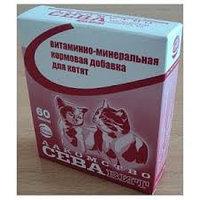 """Витаминное Лакомство """"Севавит"""" для кошек, фото 1"""