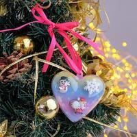 Кольца детские 'Выбражулька' 3шт, новогодние, форма МИКС, цветные