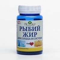 Рыбий жир для сердца и сосудов 'Мирролла', капс, 100 (БАНКА)
